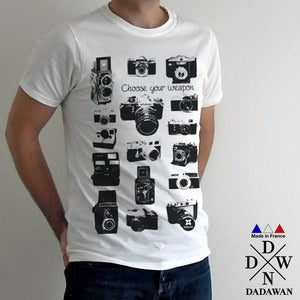 Image of Vintage cameras - T-shirt Made in France