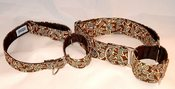 Image of Retro Leaves Martingale Collar