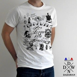 Image of Vintage tattoos black and white edition - T-shirt Made in France