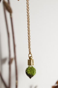 Image of Terrarium Heart Necklace