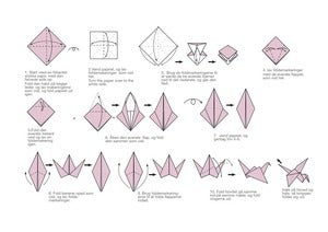 Image of Origami Crane  folding instructions