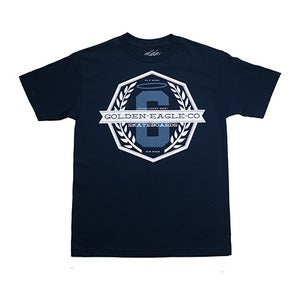Image of Team Crest S/S Tee in Navy