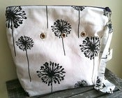 "Image of ""Totable"" Yarn Pop - Black & White Dandelion"
