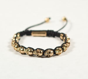 Image of Skull Head Bracelets - Black