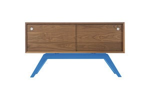 Image of Elko Credenza Small-Walnut