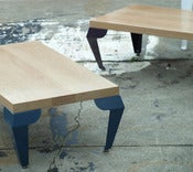 Image of Coffee Table with Stage Legs