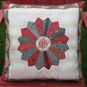 Image of Dresden Plate Pillow Pattern