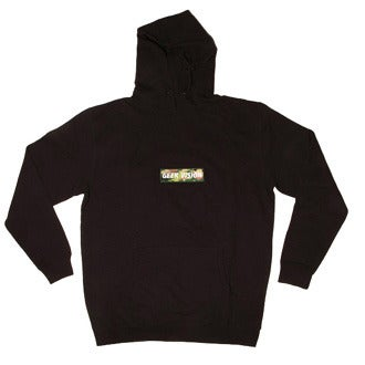 Image of GV Hoody ( Black ) + Green Camo Badge