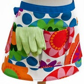 Image of Garden or Vendor Half Apron : IKEA Fredrika Fabric