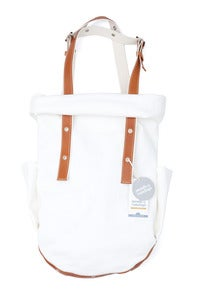 Image of Puuvillaneuloksinen laukku - Cotton jersey bag
