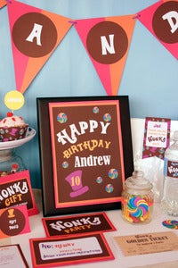 Image of Willy Wonka Party Collection