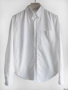Image of Band of Outsiders - Classic Button Down Oxford Shirt