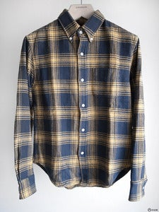 Image of Band of Outsiders - Vintage Plaid Button-Down Shirt