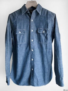 Image of Double RL - Classic Chambray Work Shirt