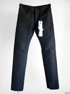 Image of Rick Owens - Slim 5 Pocket Ramie Trousers
