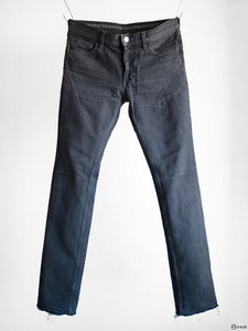 Image of Number (N)ine - Washed 5-Pocket Darted Slim Jeans