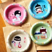 Image of Assiette Kawaii &quot;I Love Tokyo&quot;