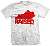 "Image of KY Raised ""Limited Edition"" in White & Red"