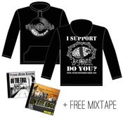 Image of Black VMR Hoody + FREE MIXTAPE