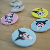 Image of Badge Kuromi