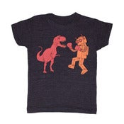 Image of Dinosaur vs Robot | KIDS TEE