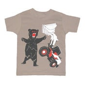 Image of Bear vs Tractor | KIDS TEE