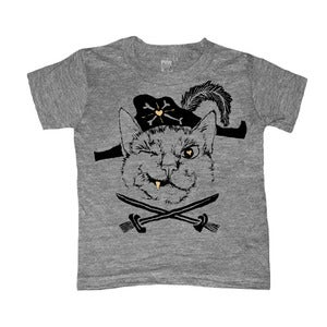 Image of Pirate Cat | KIDS TEE