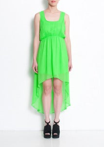 Image of Pixie Hi-Lo Hem Dress