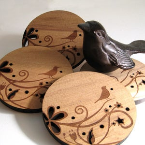 Song Bird Coasters
