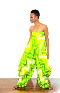 Image of Lal Mirchi Strapless Jumpsuit