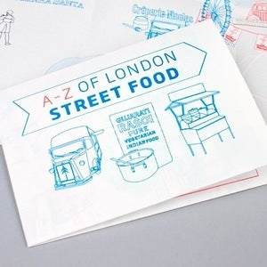 Image of London A-Z Street Food Map