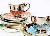 Image of Richard Brendon: Reflect tea cup &amp; saucer