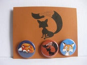 Image of Dream Fox Button Pack