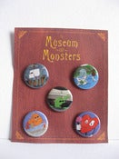 Image of Museum Of Monsters Button Pack