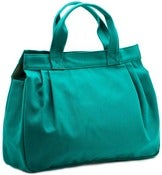 Image of Porter Tote - Emerald Canvas