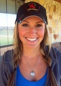 Image of Ali Dee - Monogrammed Necklace from CMT's Texas Women Classic with a crystal