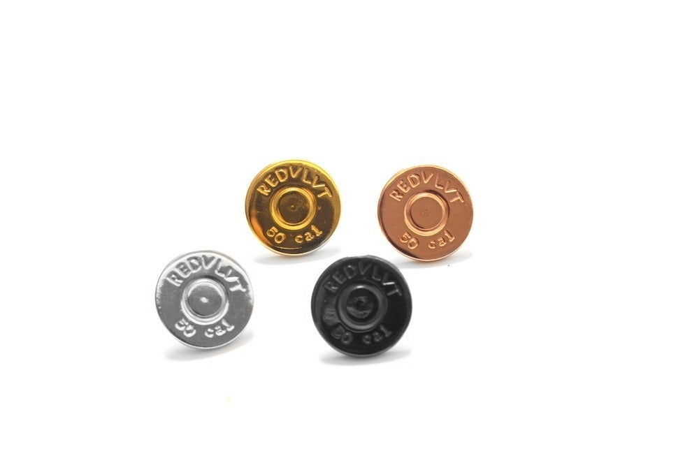 Image of .50 cal stud earrings