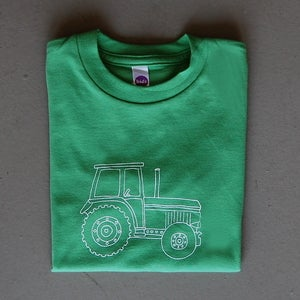 Image of Big Green Tractor Children's Tee