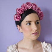 Image of Whole Lotta Rosie Headband - French Rose