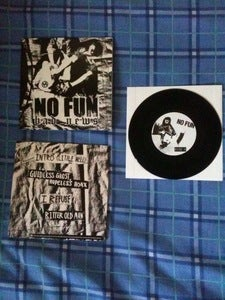 "Image of No Fun 'Bad News' 7"" Vinyl DSTM005"