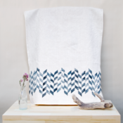 Image of Tea Towel / Chevron