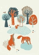 Image of British Wildlife Print - Available in 3 sizes
