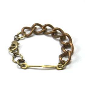 Image of crescent bracelet