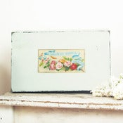 Image of Vintage Wooden Jewelry Box