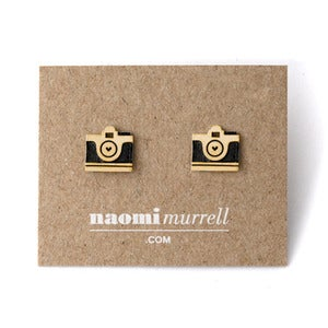 Image of Camera Studs | Golden