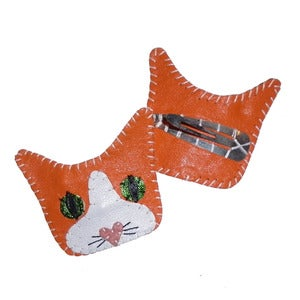 Image of Ginger Tom Cat Hairslide