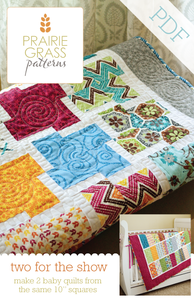 Image of Two for the Show: PDF Quilting Pattern #115