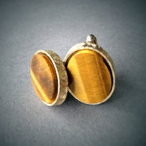 Image of Tiger's Eye Cufflinks