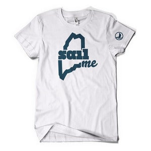 Image of SailME T-shirt (White)
