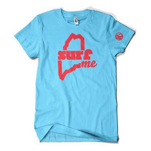 Image of SurfME T-Shirt (Aqua)
